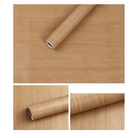 Combo 10m giấy dán tường giả gỗ có keo sẵn