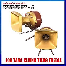 Bộ 2 loa treble PT6 họng đúc gang - Hàng chính hãng