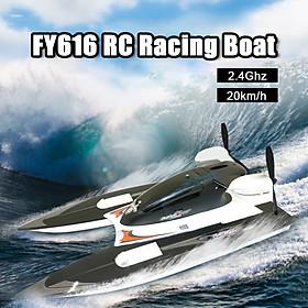 Mô hình du thuyền điều khiển từ xa FY616 RC 2.4G tốc độ cao 20km/h