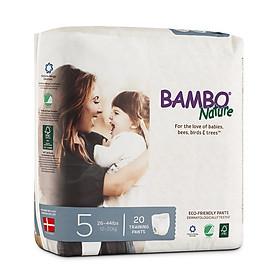 Combo 3 gói Tã Quần Em Bé Hữu Cơ Bambo Nature - gốc Đan Mạch - 12-20kg - XL20 - 20 miếng-1