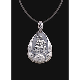Phật Bất Động Minh Vương_Mặt Phật Bạc Thái S999_Phật hộ mệnh tuổi Dậu_Mệnh Thổ-AKO4
