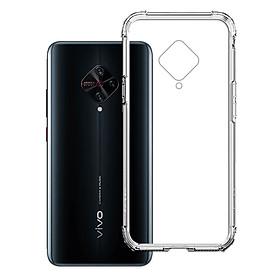 Ốp Lưng Chống Sốc cho điện thoại Vivo S1 Pro - 04073 - Dẻo Trong - Hàng Chính Hãng