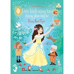 Sticker Dolly Dressing - Dán Hình Sáng Tạo Trang Phục Búp Bê - Nàng Bạch Tuyết