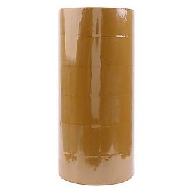 [Lốc 6 Cuộn] Băng Keo Đục, Băng Dính Dán Thùng Titapha (6 x 100 Yards)
