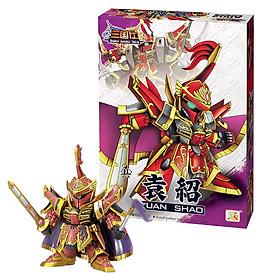 Mô hình Gundam tướng Viên Thiệu - Đồ chơi Tam Quốc lắp ráp sáng tạo Gundam A002