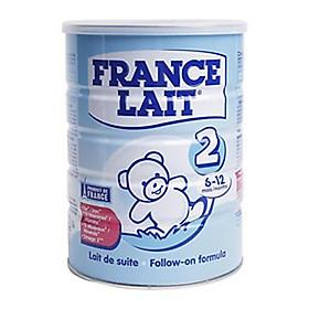 Sữa bột France Lait số 2 (900g)  -  Dinh dưỡng cho trẻ từ 6 -12 tháng tuổi