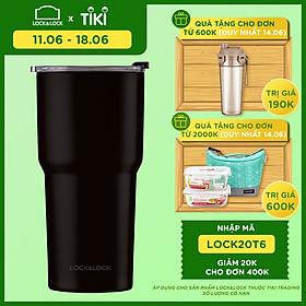 Bình Giữ Nhiệt Lock&Lock Swing Tumbler LHC4179BLK - 350ml - Đen