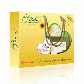 Thực phẩm chức năng sức khỏe Quà tặng Bảo Xuân Gold bộ 4 hộp