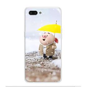 Ốp lưng dẻo cho Realme C1_0385 Pig 25 - Hàng Chính Hãng