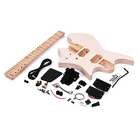 Đàn Guitar Điện Chưa Lắp Đặt Gồm Thân Basswood Phím Cần Đàn Không Gồm Đầu Đần Muslady