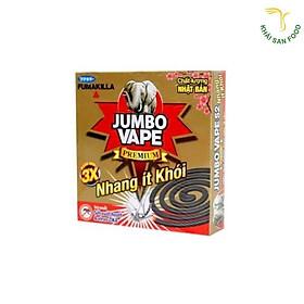 10 Hộp nhang đuổi muỗi ít khói Jumbo Vape mỗi hộp có 10 khoanh tặng thêm 2 khoanh