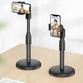 Giá đỡ/ Chân đế livestream để bàn  Selfiecom P7 - dùng cho điện thoại - Hàng chính hãng