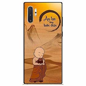Ốp lưng in cho Samsung Note 10 Plus Mẫu Bước Chân An Lạc