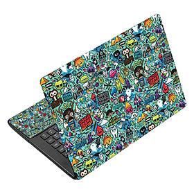 Miếng Dán Decal Dành Cho Laptop - Hoa Văn LTHV-240
