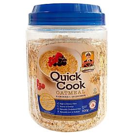 Yến Mạch Quick cook Oatmeal - xanh (500g / hộp)