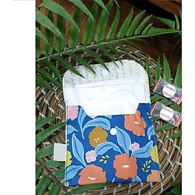 Túi nhỏ handmade đựng băng vệ sinh và đồ dùng cá nhân