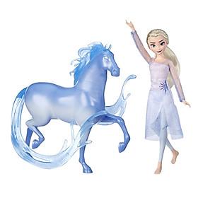 Đồ chơi búp bê nữ hoàng băng giá Elsa và sinh vật huyền bí Nokk