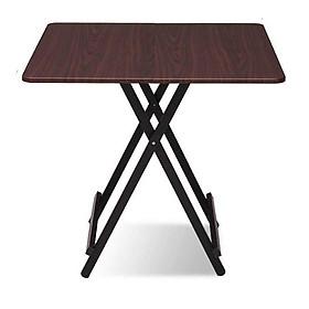 bàn ăn gấp gọn gia đình thông minh vuông 80 *80 cao 75cm