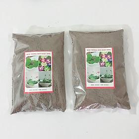 Combo 02 Gói Bùn Khô Chuyên Dùng Trồng Hoa Sen Mini Nhật - Sạch Nấm, Giàu Chất Dinh Dưỡng Cho Sen Mini Ra Hoa Sau 3 Tháng Trồng