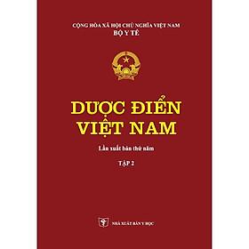 Dược Điển Việt Nam Tập 2