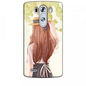 Ốp lưng dành cho điện thoại LG G3 Phía Sau Một Cô Gái