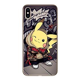Ốp lưng dành cho iPhone X/XS/XS MAX - Pikachu