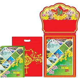 Lịch Bloc Gia Vũ Siêu Siêu Đại (35x50 cm) - Phong Cảnh Việt Nam