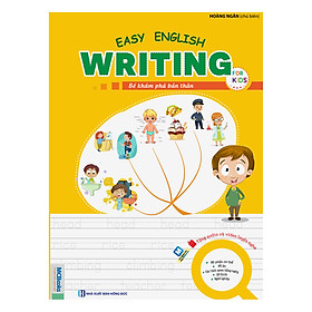 Easy English Writing For Kids - Bé Khám Phá Bản Thân