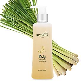Dầu Massage Body Biyokea - Invigorating B8 - 200ml