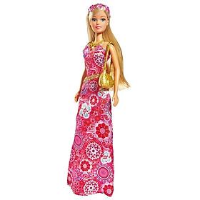 Đồ Chơi Trẻ Em Búp Bê Bữa Tiệc Hoa Steffi Love Flower Party 105733206 - Váy Đỏ
