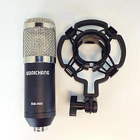 Micro thu âm Studio cao cấp BM 900 Woaichang  Hàng chính hãng