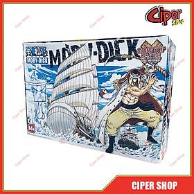 Mô hình thuyền Râu Trắng Bố Già White Beard one piece - Tàu râu trắng Moby Dick