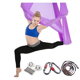 Võng tập Yoga cao cấp vải lụa siêu bền QYYS01 - Yoga Trapeze/Yoga Swing