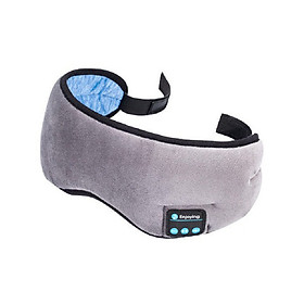 BT Sleep Mask Wireless Music Goggles Eye Cover Wirelessly Headphones with Microphone Calling Handsfree Soft Adjustable