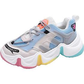 Giày Thể Thao Sneaker Đế Sóng 7 Mầu