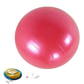 Bóng Tập Yoga Trơn Massage Cao Cấp 65cm(Tặng kèm Bơm Và bộ Dụng Cụ Van Dự Phòng)