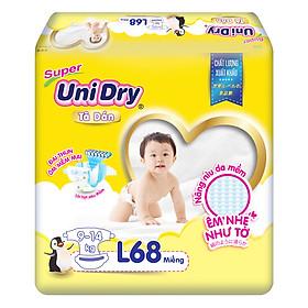 Combo 3 Tã Dán Cho Bé UniDry (G6+) size L68 (68 Miếng)-1