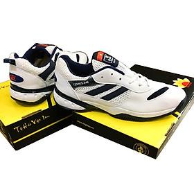 Giày Chơi Tennis Chí phèo Nam Nữ Trắng