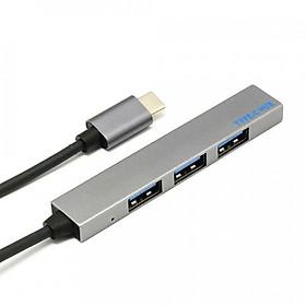 Hub USB 4 Cổng 2.0 Giao Diện Type-C (5Gbps)