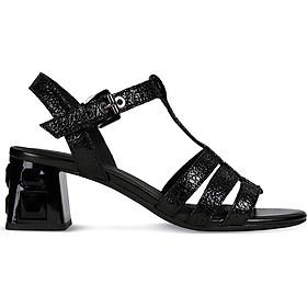Giày Sandals Nữ GEOX D SEYLA S.M.PLUS A BLACK