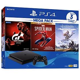 Máy chơi game PS4 Slim 1TB Mega 3 CUH-2218B MEGA3 - Hàng Chính Hãng