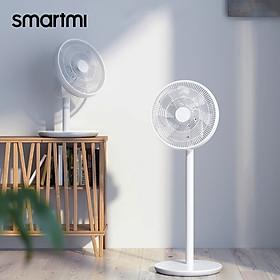 Smartmi Air Circulation Fan Cordless Silent Standing Floor Desktop Office Electric Fan 4 Gears Timing 20H Rechargeable
