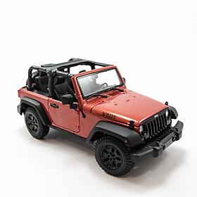 Mô Hình Xe Jeep Wrangler Rubicon (Open Top) 2014 1:18 Maisto - MH 31610