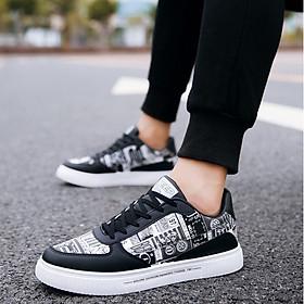Giày nam sneaker thể thao họa tiết-5