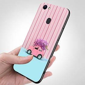 Ốp điện thoại dành cho máy Oppo A79 - Xe hoa hồng MS FLWR0005