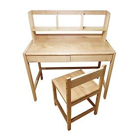 Bộ bàn ghế học sinh thông minh- Thay đổi độ cao thấp- Bộ bàn học sinh gỗ Sồi- CABHS01