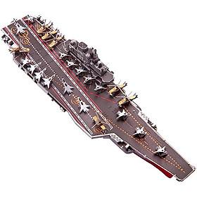 Mô Hình Lắp Ráp Kim Loại Piececool P056-Ksr - Tàu Sân Bay Loaoning CV-16 (142 chi tiết)