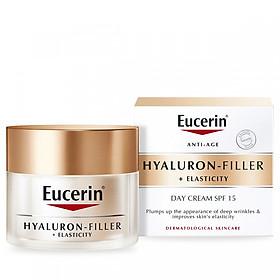 Kem chống lão hóa, căng nếp nhăn Eucerin Hyaluron Filler + Elasticity Day (50ml)