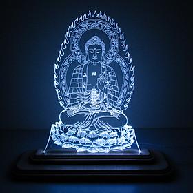Đèn Led 3D|Mô Hình Tượng Phật Dược Sư