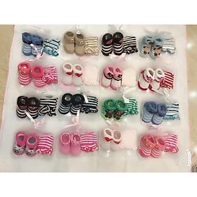 Biểu đồ lịch sử biến động giá bán Sét tất chân&bao tay len cho bé sơ sinh